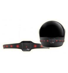 Luce di sicurezza per casco
