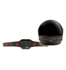 Safety light for helmet