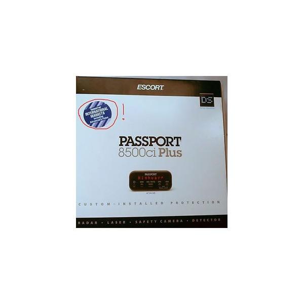 escort passport 8500 x50 intl d tecteur de radar. Black Bedroom Furniture Sets. Home Design Ideas