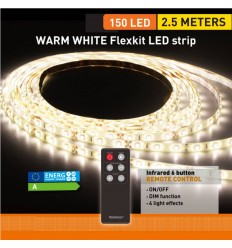 WARMWHITE FLexkit LED strip